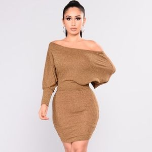 Did You Say Dulce De Leche Dress - Mustard